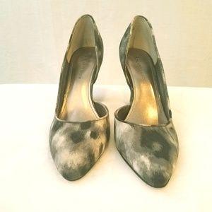 Anne Klein Gorgeous Silver and Black Heels